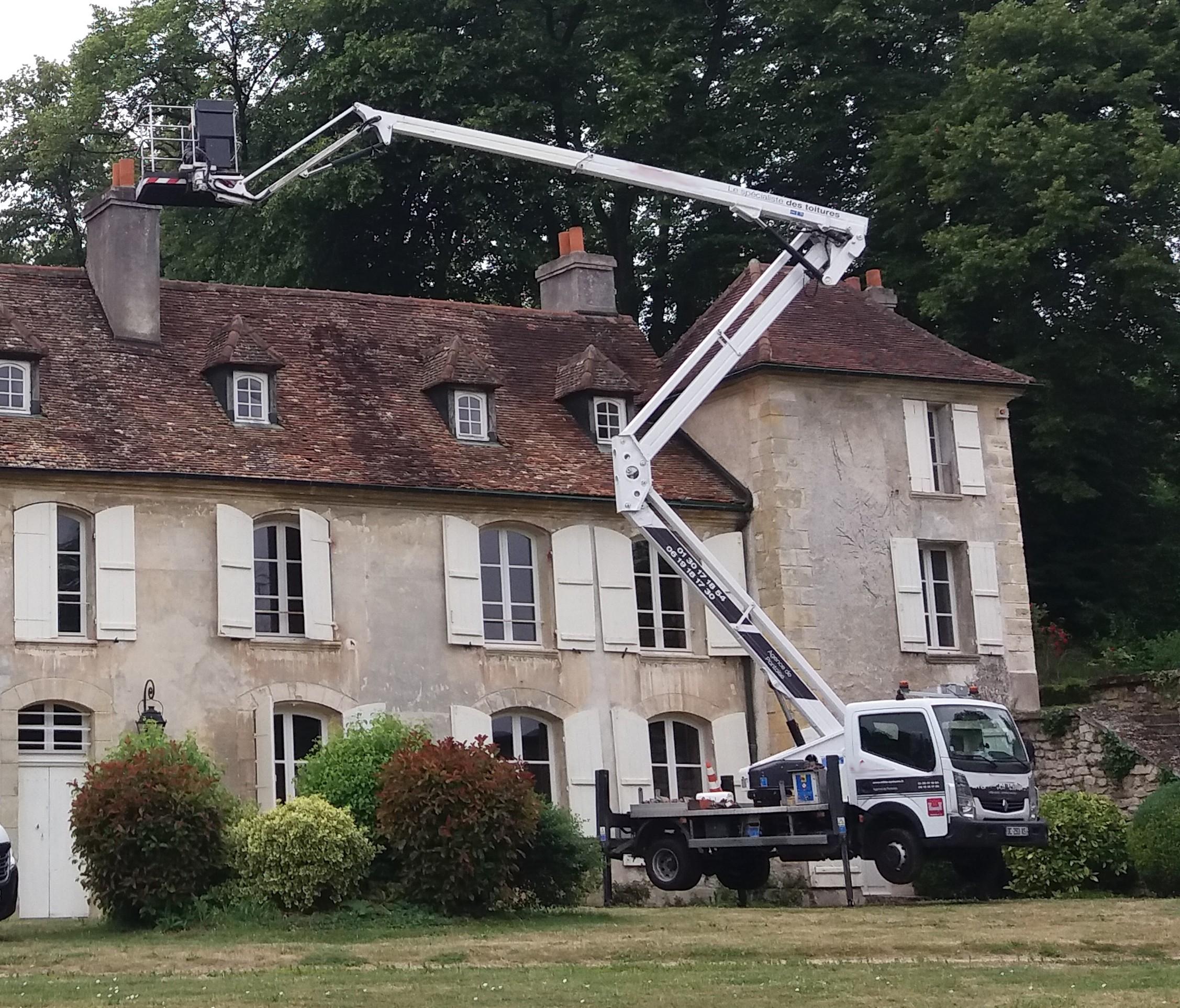 Démoussage maison Vexin français Servitas