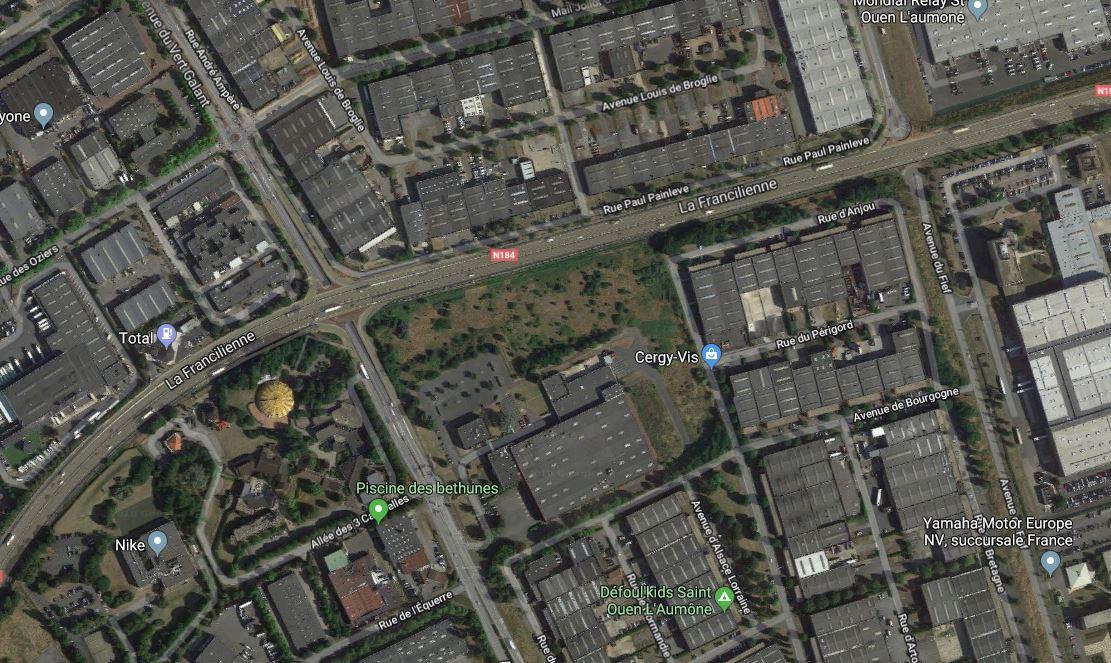 lanterneaux visibles depuis Google Maps