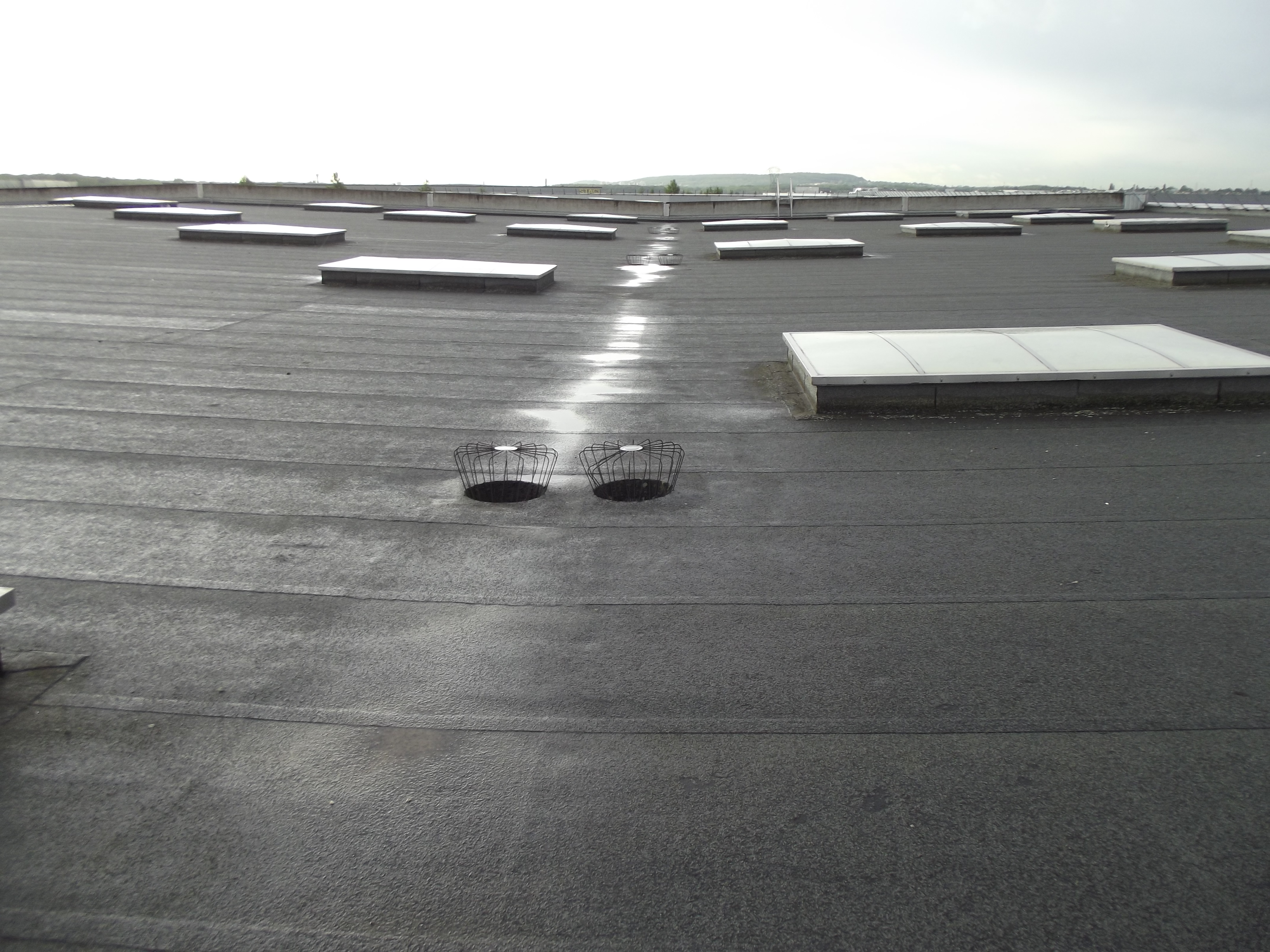 étanchéité toit terrasse batiment industriel